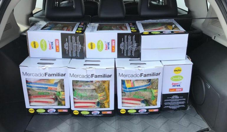 El Grupo Éxito aumenta donaciones de alimentos en alianza con EatCloud y Bancos de Alimentos